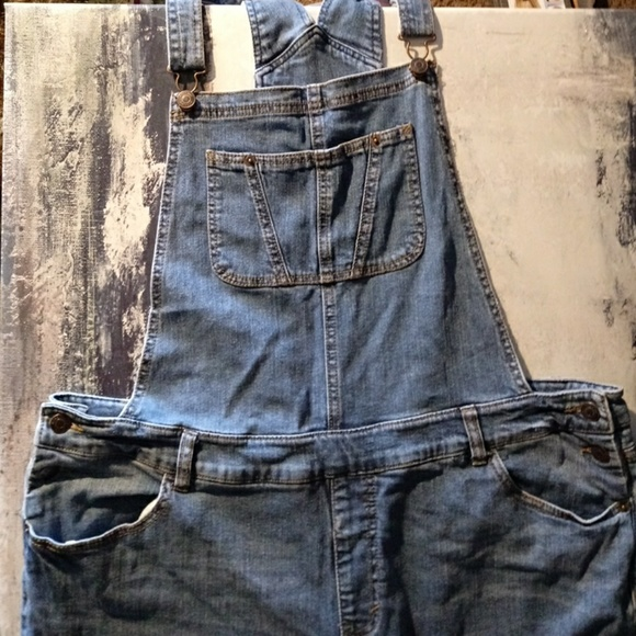 fa9f9ea4cb7 Womens Plus Size Denim Overalls 2XL